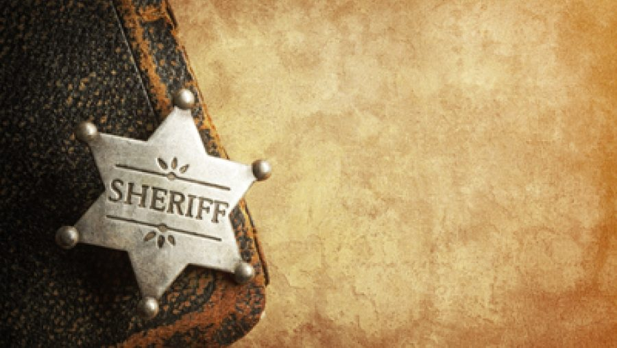 On Being the New Sheriff