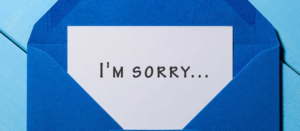 Give Yourself and Someone Else a Holiday Present… An Apology