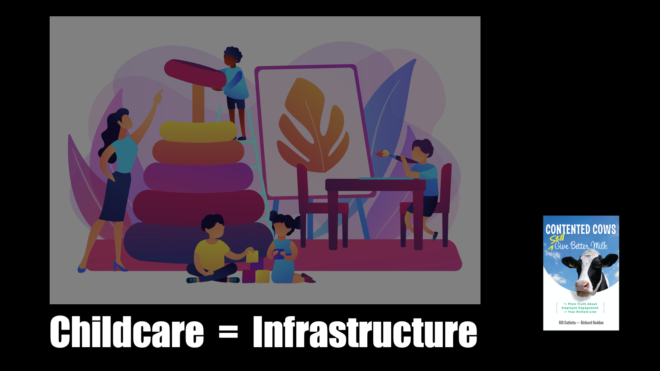 Childcare = Infrastructure
